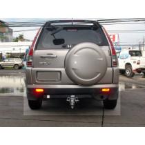 Honda CRV 02+ króm hátsó lámpa borítás